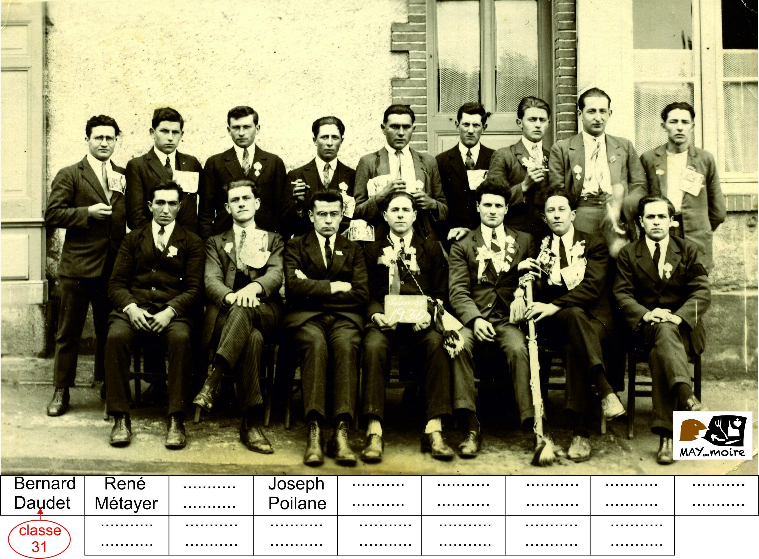 1930 classe 30-31