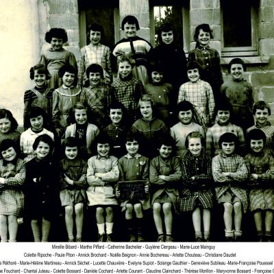 1956 filles Melle Marcelle
