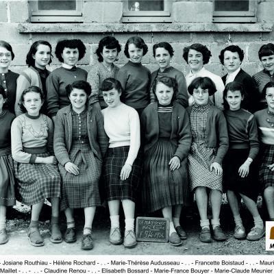 1956 filles ND
