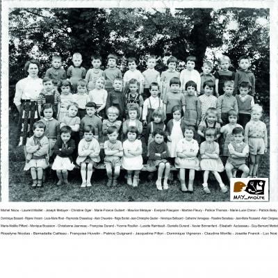 1960 maternelle