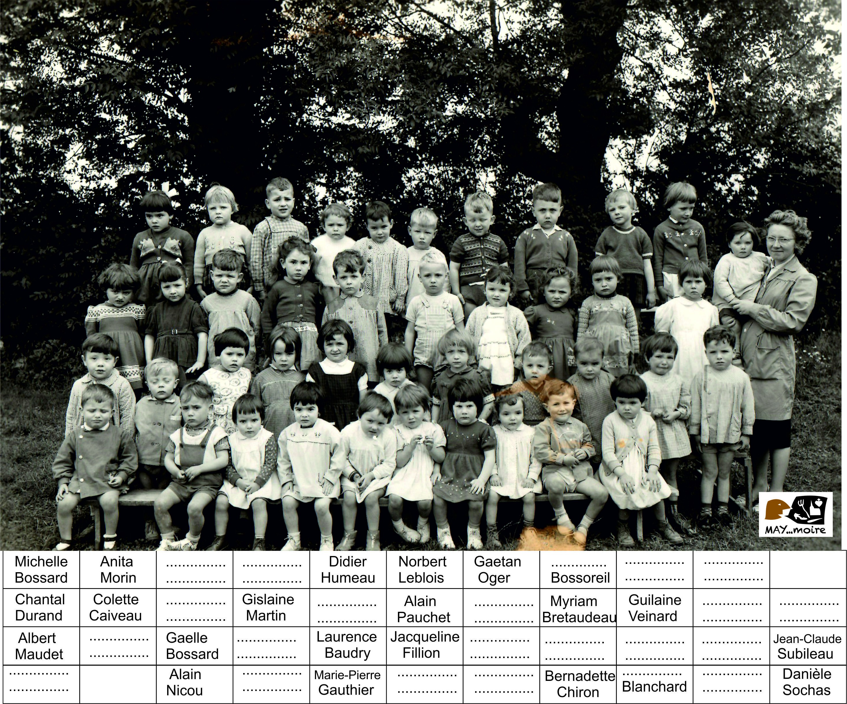 1960 maternelle