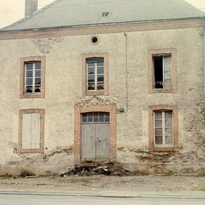 Ecole St Joseph côté rue 1973