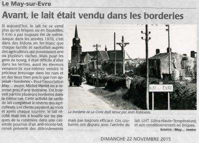 Article retouche borderies