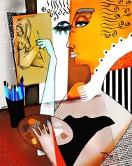 Roger M   Artiste peintre