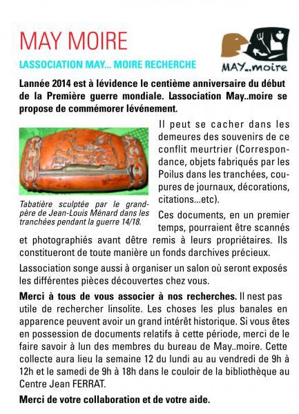 May info fevrier 2014