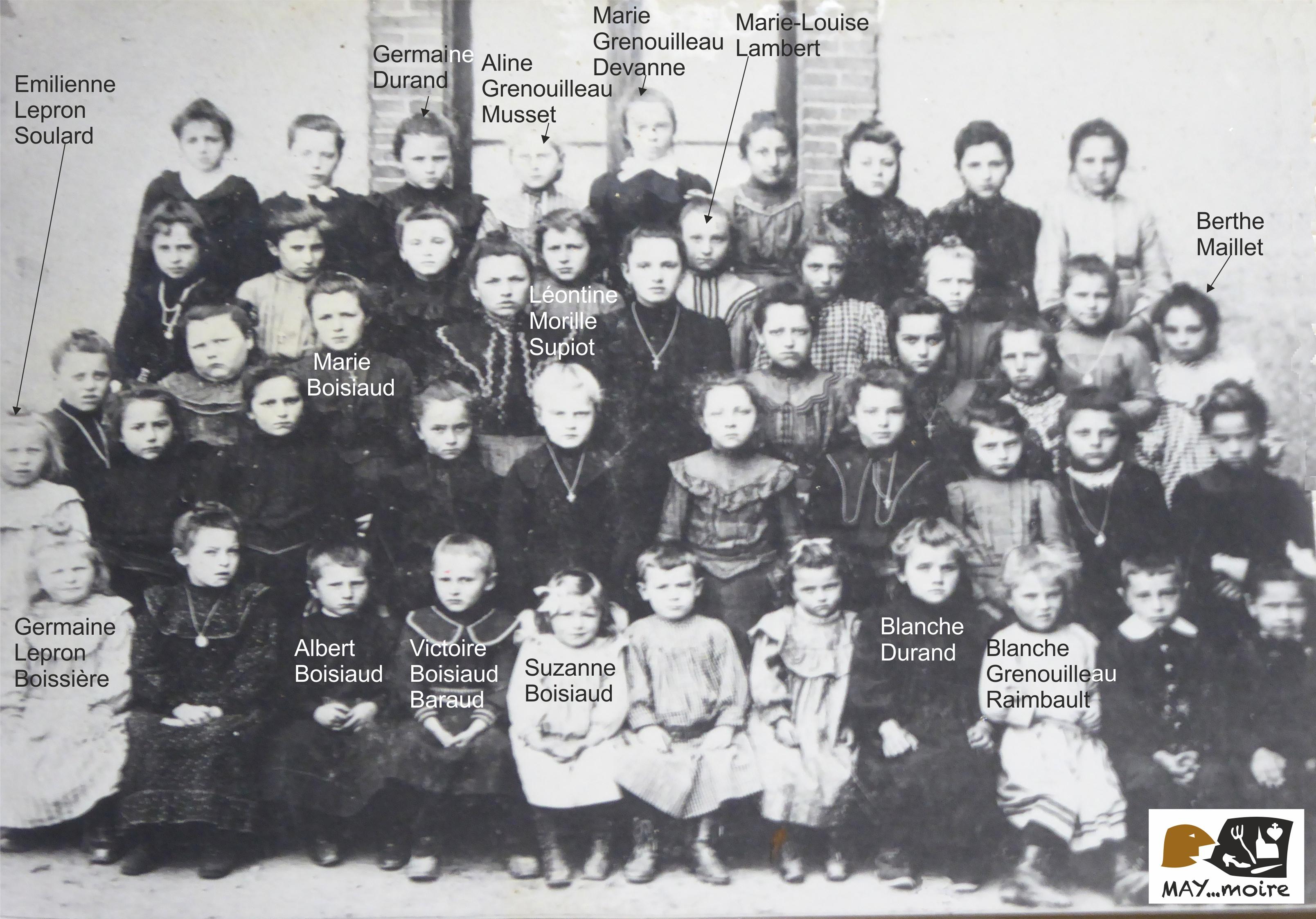 1905-1906 1ère classe st antoine