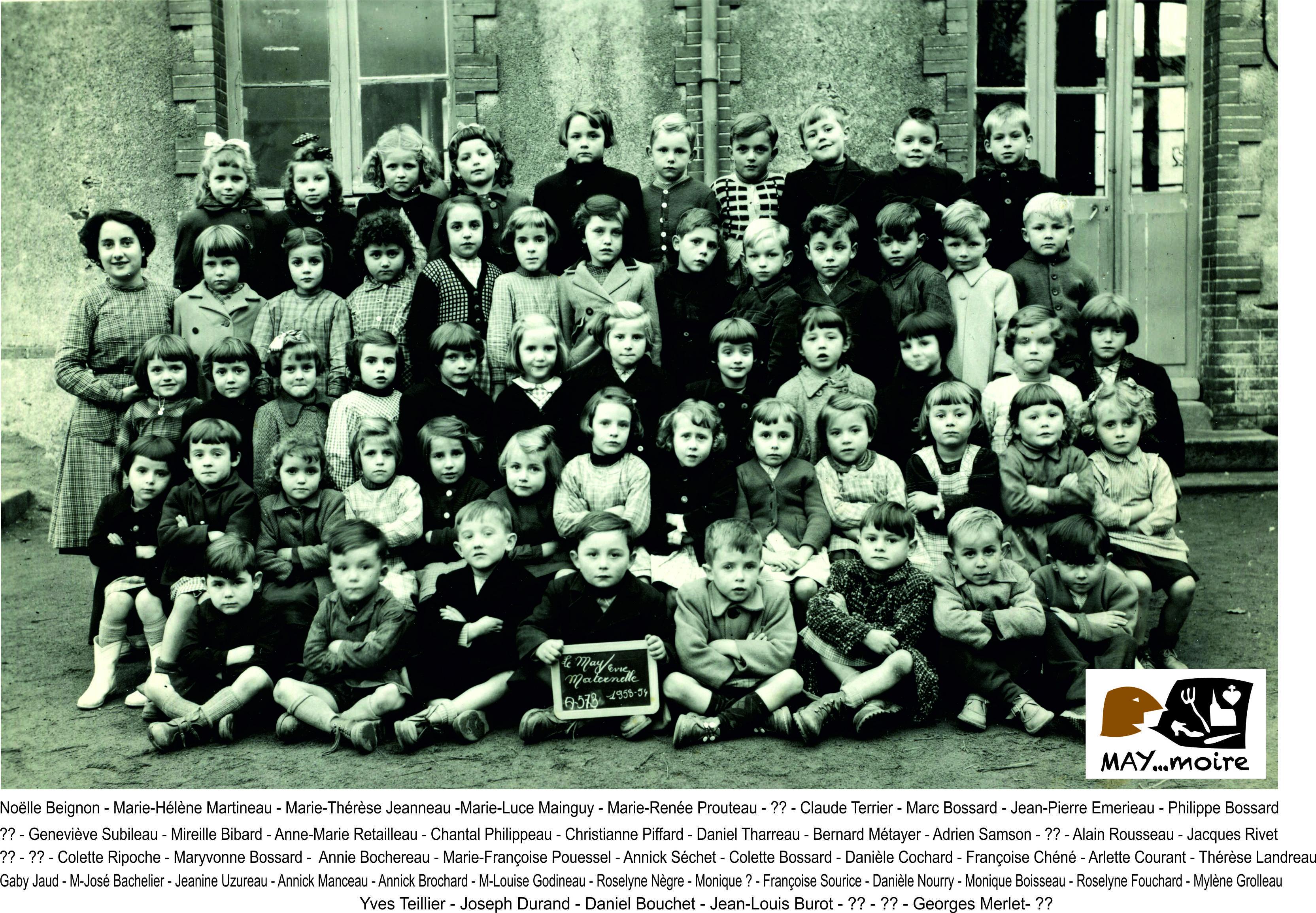 1953-54 Melle Odile