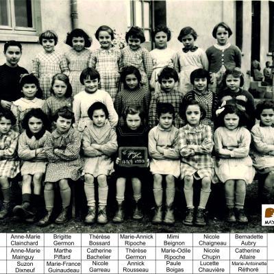 1953 - 1954 Notre Dame
