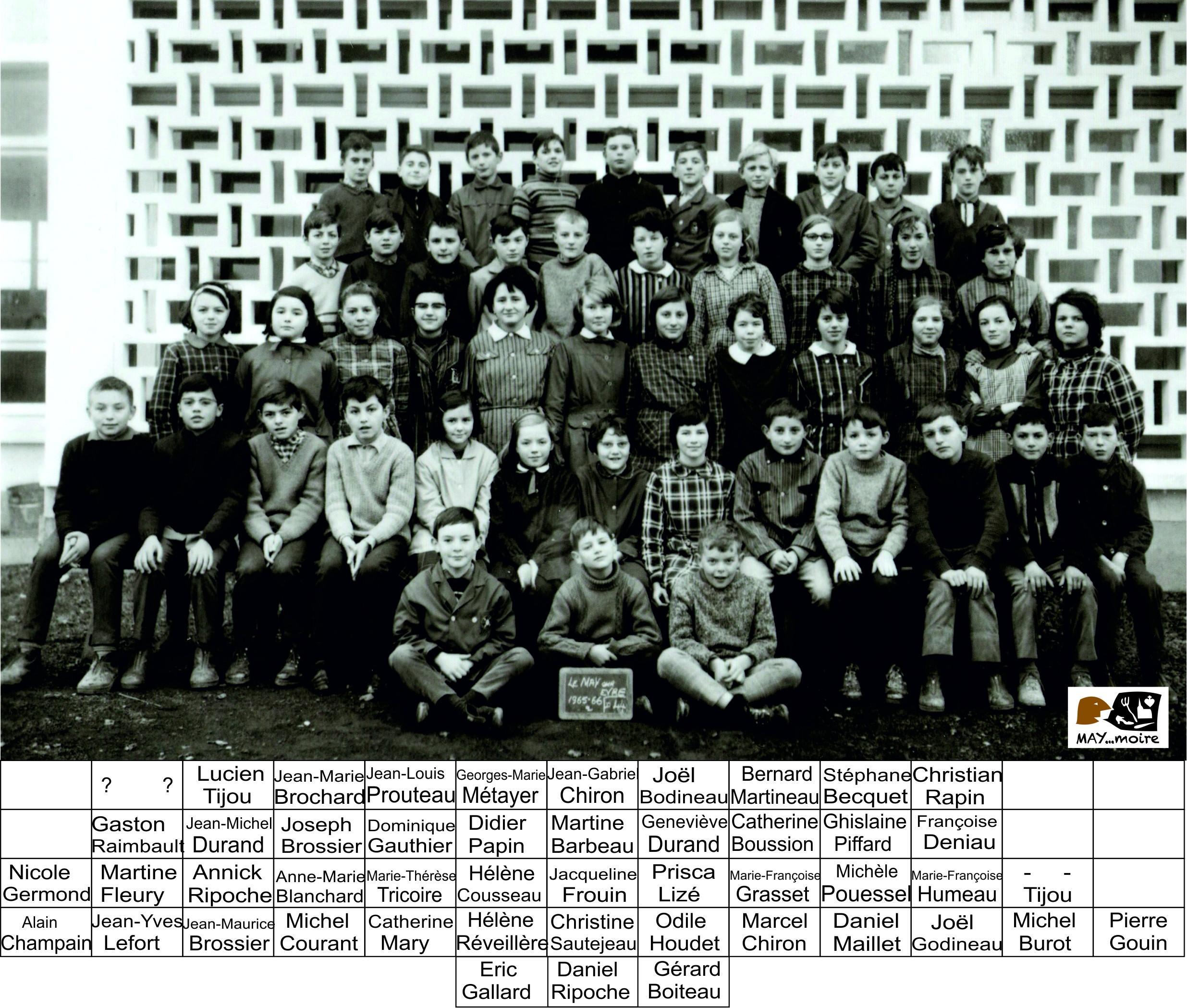 1965-1966 6ème St Joseph