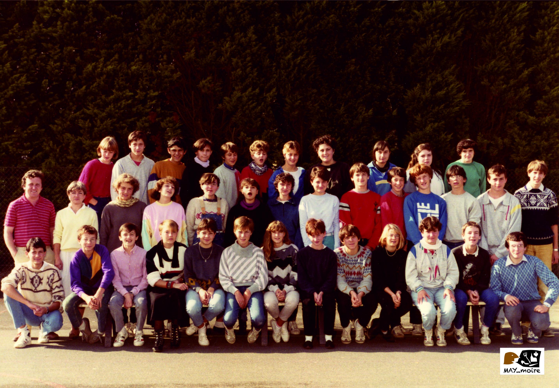 1985 2 classes de 3ème St Jo