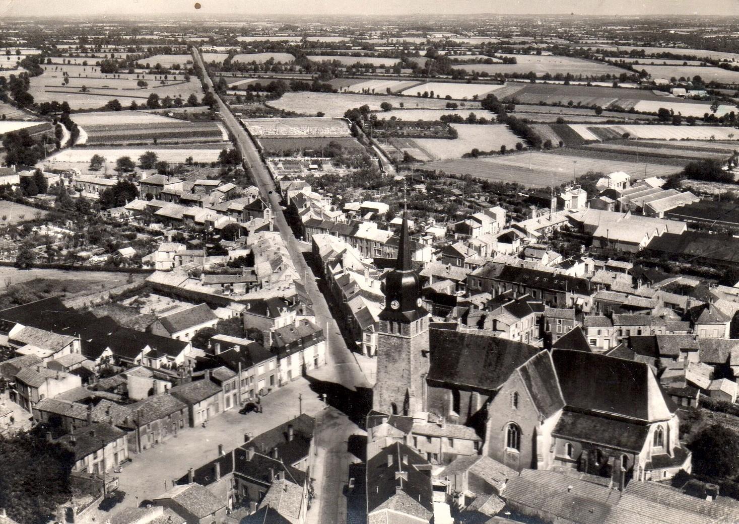 L'église 1955