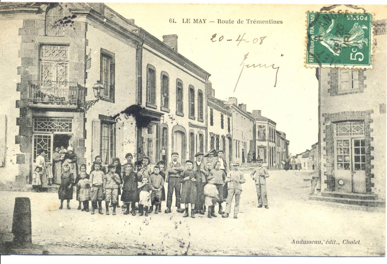Carrefour Grande Rue ( Pasteur ) et Louis Fizeau 1908