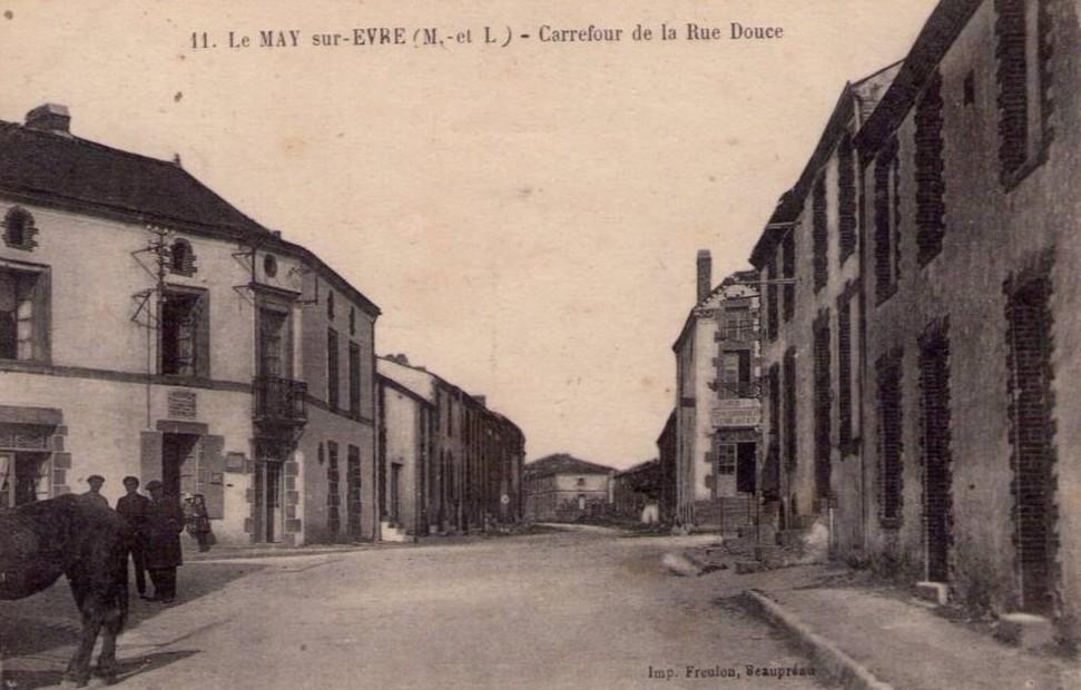 Carrefour de la rue douce